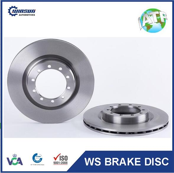 Mascott truck parts 5010260604 vented brake disc 290mm