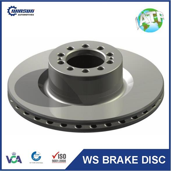 China supplier produce 7420924727 braking disc rotor