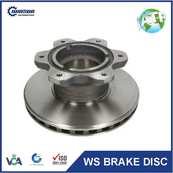 Europe vehicle genuine 6684230412 6684230212 disc rotor
