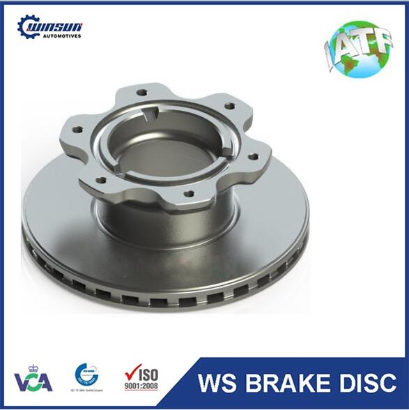 Sprinter auto brake parts 9054200072 brake disc 304mm